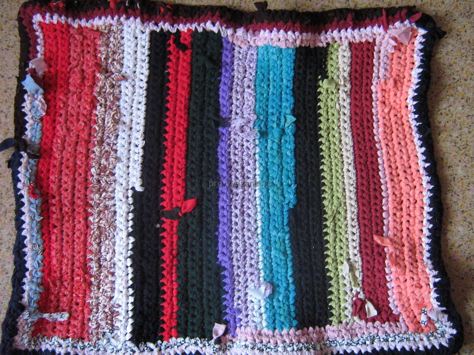 Вязание из ткани фото