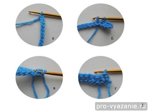 Как связать варежки крючком (для начинающих)