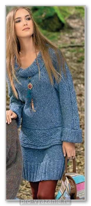 Это необычное одеяло, связанное по спирали из двух цветов, я нашла в англоязычной сети. Мне понравился оригинальный способ вязания, и я хочу поделиться им с вами.  Размер одеяла: 122×114 см.  Материалы: 350 г пряжи голубого цвета плотностью 285 м/100 г. 350 г пряжи синего цвета плотностью 285 м/100 г. Спицы №4.  Порядок работы. Одеяло вяжется платочной вязкой от двух разных клубков. Платочная вязка позволяет более быстро и точно ориентироваться по длине полосок, считая рубчики, которые образуются при вязании.   Полоски соединяются между собой следующим образом: провязываете 19 петель, снимаете 1 петлю, подхватываете край соседней полоски и вытягиваете 1 петлю как лицевую. Перекидываете снятую петлю через петлю, вытянутую из края. Поворачиваете вязание и провязываете все петли лицевыми.  Повороты спиралей делаются вязанием укороченных рядов.  То есть вяжете необходимое количество петель, поворачиваете вязание. На правую спицу делаете накид и продолжаете вязать петли лицевыми. В следующем ряду последнюю петлю провязываете вместе с накидом.  Описание вязания одеяла: Голубым цветом наберите 10 петель Провяжите 20 рядов платочной вязкой (10 рубчиков).  Начните вывязывать поворот: 9 лицевых, 10-ю петлю снимите на правую спицу, рабочую нить оберните вокруг 10-й петли по направлению к себе. Верните 10-ю петлю на левую спицу, а рабочую нить протяните между спицами по направлению от себя (10-я петля будет обвернута рабочей нитью), поверните вязание и вяжите лицевыми до конца ряда.  8 лицевых, оберните 9-ю петлю как описано выше, поверните вязание и вяжите лицевыми до конца ряда.  7 лицевых, оберните 8-ю петлю как описано выше, поверните вязание и вяжите лицевыми до конца ряда.  6 лицевых, оберните 7-ю петлю как описано выше, поверните вязание и вяжите лицевыми до конца ряда.  5 лицевых, оберните 6-ю петлю как описано выше, поверните вязание и вяжите лицевыми до конца ряда.  4 лицевых, оберните 5-ю петлю как описано выше, поверните вязание и вяжите лицевыми до конца ряда.  3 л